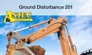 ground disturbance 201 training course