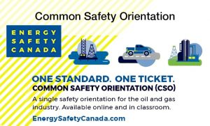 Energy Safety Canada Common Safety Orientation Training